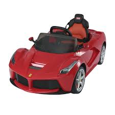 toy ferrari aosom 12v ferrari laferrari kids electric ride on car with mp3 and