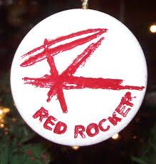 my red rocker keychain christmas ornament sammy hagar the red