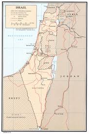 Map Of Israel Nationmaster Maps Of Israel 41 In Total