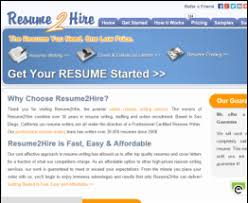 best rated resume writing services resume 2 hire review the best resume writing service reviews
