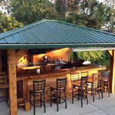 Outside Patio Bar best 20 outdoor kitchen bars ideas on pinterest farmhouse