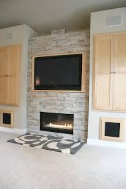 Inbuilt Tv Cabinets Living Room Fireplace Built In Cabinet Detail Modern