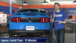 mustang third brake light restore mustang third brake light decal 10 14 review youtube