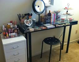 Bedroom Makeup Vanity With Lights Amiable Snapshot Of Bedroom Paint Color Ideas Breathtaking Bedroom