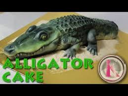 kricky cakes and airbrush cake decorating realistic alligator
