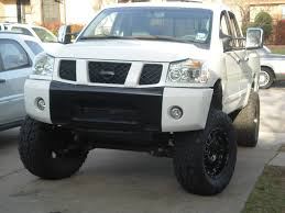 nissan titan wheel spacers lets see the transformations of your trucks nissan titan forum