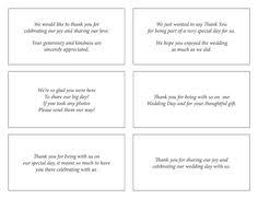 wedding thank yous wording card design ideas remains what to say in wedding thank you cards