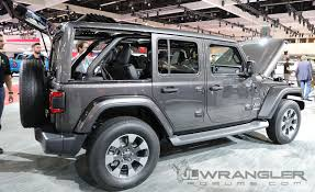 jeep open top jeep wrangler jl with sky one touch powertop demonstration 2018