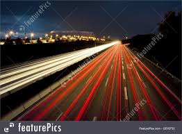 picture of car lights motion