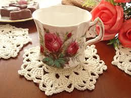 crochet pattern crochet placemat coaster pattern home decor