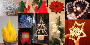 tree decorations weekly roundup ten 3d printable unique christmas tree decorations