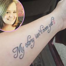 catelynn lowell debuts new tattoo honoring mental health issues