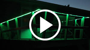 Install Led Light Strip by How To Install Light Strips Indoors And Outdoors Youtube