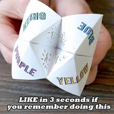 how to make a paper fortune teller deals from savealoonie