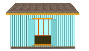 Plans For A Garden Shed by How To Build Double Shed Doors Howtospecialist How To Build