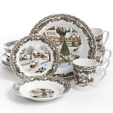 spode tree 12 dinnerware set part 48 large