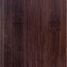 handscraped walnut colored wide plank bamboo eco flooring