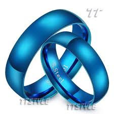 midnight blue wedding band best 25 blue wedding rings ideas on blue engagement