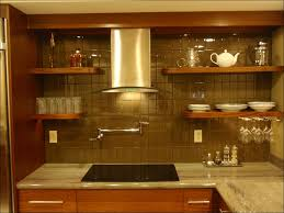 kitchen aluminum backsplash tiles steel tile stainless stove