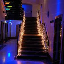 3 5m garland waterproof waterfall led string lights outdoor