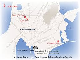 Macau China Map by Macau Luxury Travel Concierge Destination Mo By Mandarin Oriental
