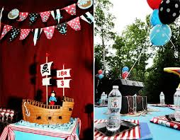 pirate party ahoy matey adorable pirate birthday party pizzazzerie