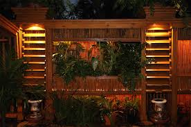 landscape lighting effects with outdoor patio lights and 7 kichler