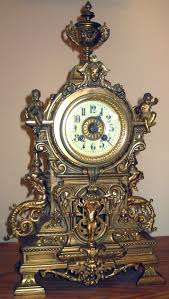 Metal Mantel Clock Antique Clocks Guy We Bring Antique Clocks Collectors And Buyers