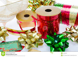 bows and ribbons christmas bows and ribbon stock photo image of season 34486296