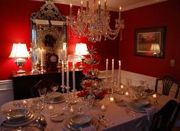 dining room table setting ideas silver tiered centerpiece for christmas christmas tables