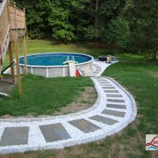 Backyard Above Ground Pool Ideas Decor U0026 Tips Amazing Above Ground Pool Ideas For Relax Time