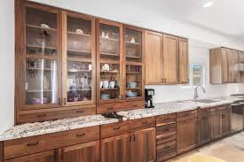 custom kitchen cabinets with glass doors remodeling semi custom starmark cabinets in a beautiful