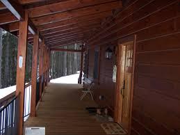 the bear hollow 2 story custom log home plan
