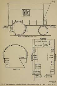 Vardo Floor Plans Lightweight Touring Caravan Design From The 19th Century