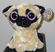 ty beanie boos pugsly dog 6 plush ebay