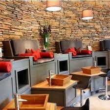 nail salon pedicure lounge interior design idea in scottsdale