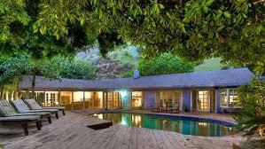 California Ranch House L A View Home For Lease Salma Hayek U0027s California Ranch Style Home