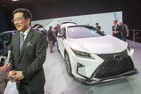 lexus rx new york motor show lexus rx the fourth generation lands at 2015 new york auto show