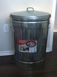 Make A Laundry Hamper by Nice Stainless Trash Can Was Used As A Dirty Laundry Hamper
