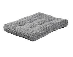 amazon com midwest quiet time pet bed deluxe gray ombre swirl 23