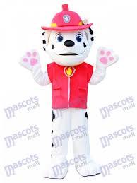 paw patrol dalmatian dog mascot costume cartoon anime