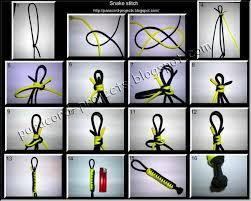 make snake knot paracord bracelet images Paracord projects snake stitch 2 colors JPG