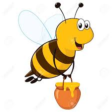 flying honey bee clipart clipartxtras