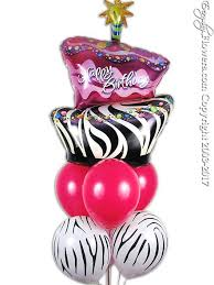 same day birthday balloon delivery birthday cake zebra print balloons delivery orange county ca