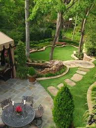 Best  Landscaping A Slope Ideas On Pinterest Sloped Yard - Backyard landscaping design