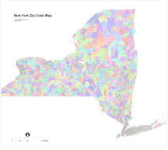 Map New York State New York Zip Map New York Map
