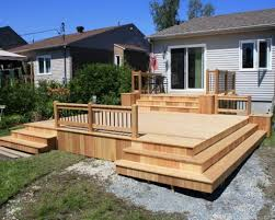 Backyard Deck Plans Pictures by Backyard Decks Designs Exciting Backyard Decking Designs And Also