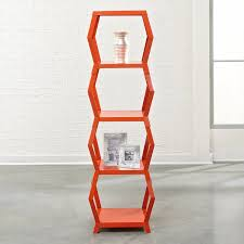 Sauder Beginnings Bookcase by Amazon Com Sauder Soft Modern Tower Etagere And Bookcase Orange