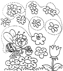 coloring blog archive spring coloring pages