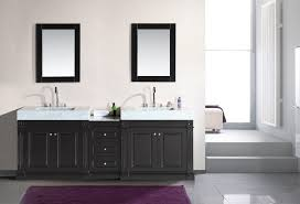 Grey White And Purple Bathroom Purple And White Bathroom With A Hint Of Country Charm From